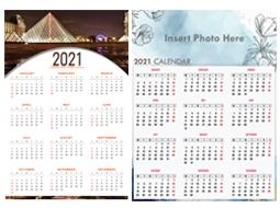 Poster & Canvas Calendar